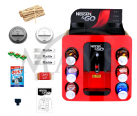 Nescafe &Go Dispenser Machine & Accessories Starter Pack (Free UK Mainland Express Delivery)